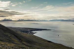 aeroporto di longyearbyen. foto