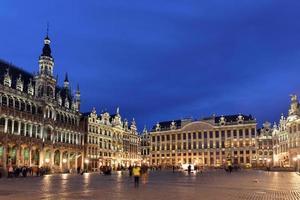 belgio, bruxelles, grote markt foto