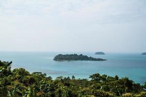 punto di vista su koh chang, thailandia foto