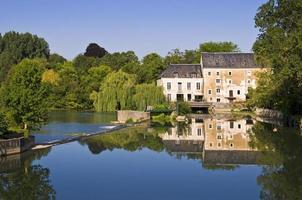 saint vaas, villaggio francese vicino al fiume loir