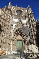 cattedrale di siviglia, spagna
