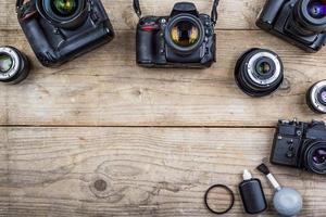 vecchie macchine fotografiche foto