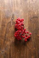 cenere di montagna decorativo sul tavolo
