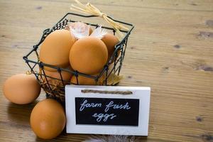 uova di fattoria