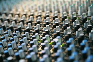 mix di musica mixer foto