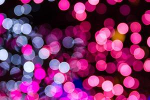 sfondi di luci natalizie bokeh foto