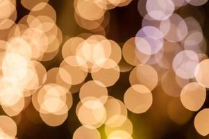 astratto circolare sfondo bokeh di luce natalizia