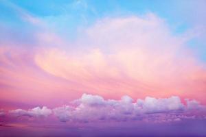cielo luminoso foto