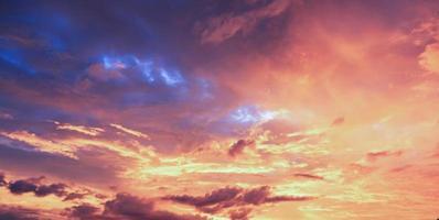 nuvole e cielo foto