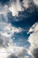 sfondo del cielo verticale foto