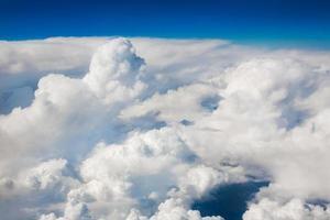 cielo nuvole di sfondo foto