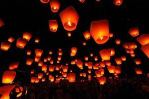 ping xi lanterna del cielo foto