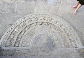 cerchio della vita scultura, sri lanka foto