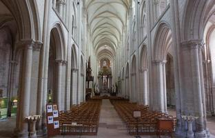 abbatiale de la trinite, fecamp, normandie, francia foto