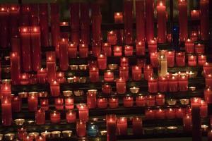 candele della chiesa foto