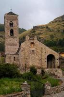 chiesa romanica di la nativitat, durro, lerida catalogna