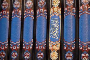 libri del Corano foto