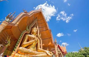 statua del buddha, wat tham sua, kanchanaburi, thailandia