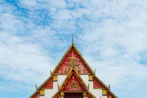 viharn phra mongkol bophit, ayutthaya, thailandia