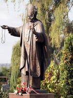 monumento a papa giovanni paolo ii karol wojtyla