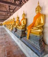 stato di buddha nel tempio