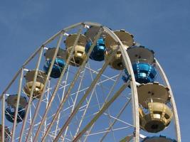 ruota panoramica in una fiera