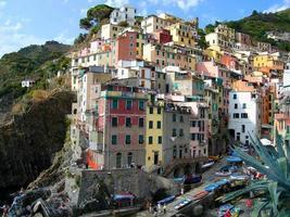 riomaggiore, cinque terre, italia foto