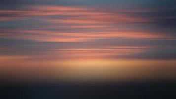 sfocatura sfumata dell'illustrazione del cielo al tramonto foto