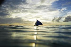 barca a vela , mare foto