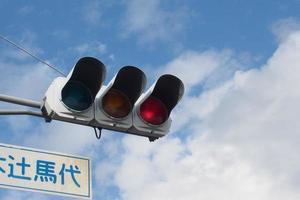 semaforo rosso foto