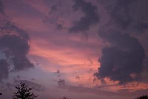 nuvole rosse 2 foto