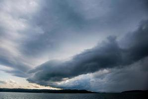 nuvola a parete foto
