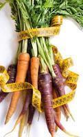 carote fresche arcobaleno organico