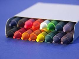 arcobaleni del tempo della scuola foto
