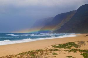 arcobaleno sull'onda