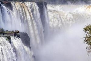 iguacu, garganta del diablo falls (tele)