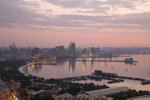 mattina a Baku foto