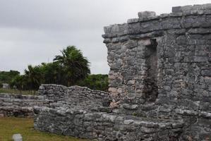 rovine di chichen itza foto