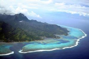 isola di moorea foto