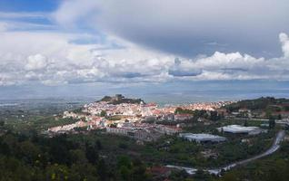 panoramica di castelo de vide