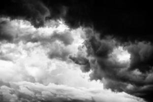 nuvole di tempesta foto