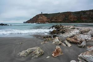 vista sul mare, mar nero foto