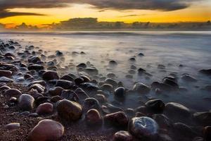 tramonto al mar baltico