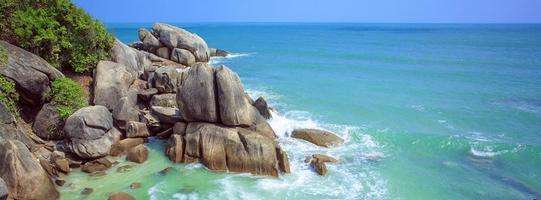 spiaggia tropicale. koh samui, thailandia.