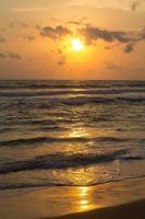 tramonto in sri lanka foto