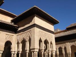 alhambra di granada, spagna