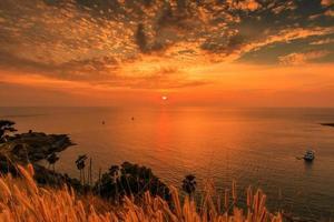 promthep cape sull'isola di phuket, thailandia