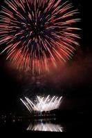 celebrazione di fuochi d'artificio