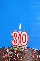 festeggia trent'anni foto