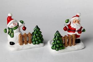 decorazioni natalizie per la tavola l foto